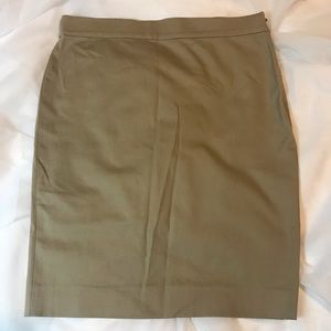 ✨KHAKI WORK SKIRT✨